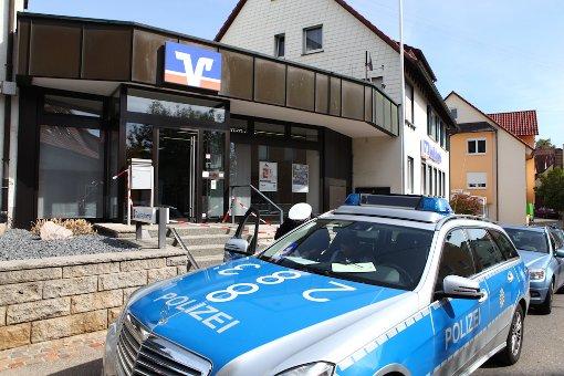 Polizei stellt mutmaßlichen Bankräuber