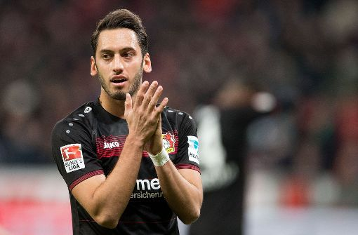 Leverkusener Calhanoglu für vier Monate gesperrt