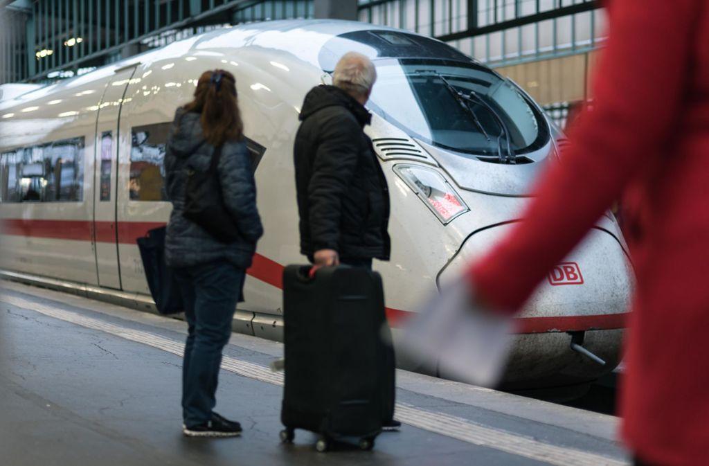 Die Schienenachse Stuttgart-Zürich soll schneller ausgebaut werden. Foto: Lichtgut/Max Kovalenko