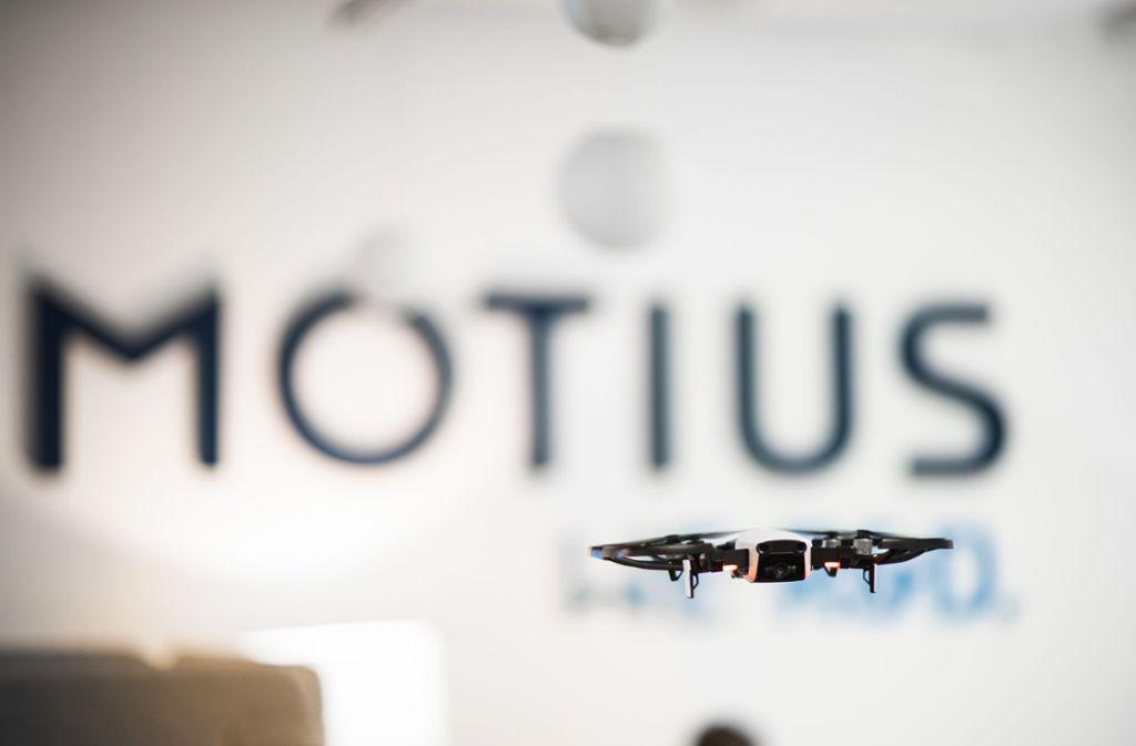 Auch mit Drohnentechnologie hat sich der Innovations-Dienstleister beschäftigt- Foto: Motius