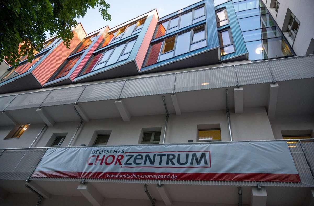 So sieht die Zentrale aus, die der Deutsche Chorverband nun in Berlin eröffnete. Foto: dpa/Christophe Gateau