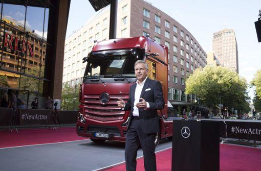 Daimler schickt neuen Actros ins Rennen