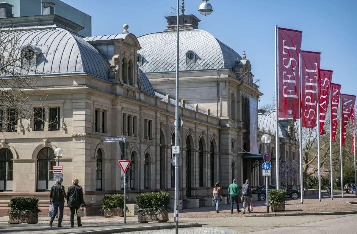 Das Festspielhaus Baden-Baden geht durch harte Zeiten. Foto: dpa/Uli Deck