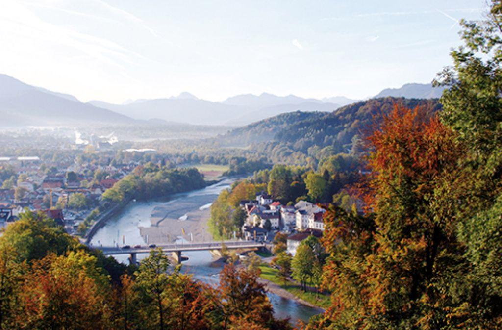 Urlaub zwischen Metropole und Alpen. Foto: Referat für Stadtmarketing, Tourismus- und Wirtschaftsförderung Bad Tölz