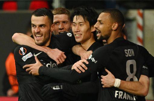 Eintracht Frankfurt stürmt mit Sieg an die Gruppenspitze