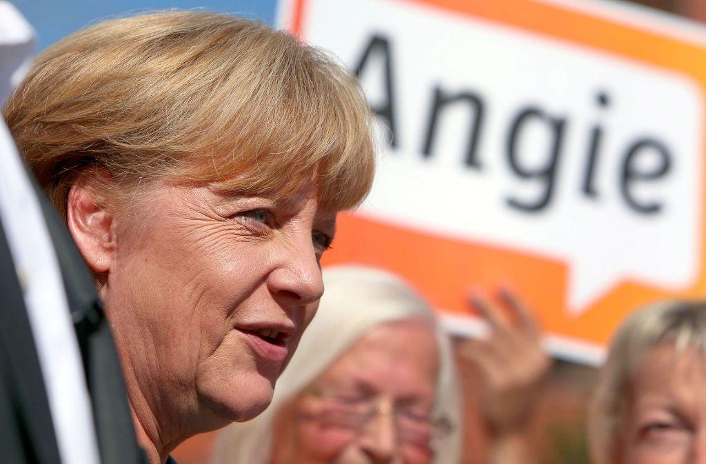 Angela Merkel ist und bleibt Bundeskanzlerin – so sieht es im Moment aus. Foto: dpa