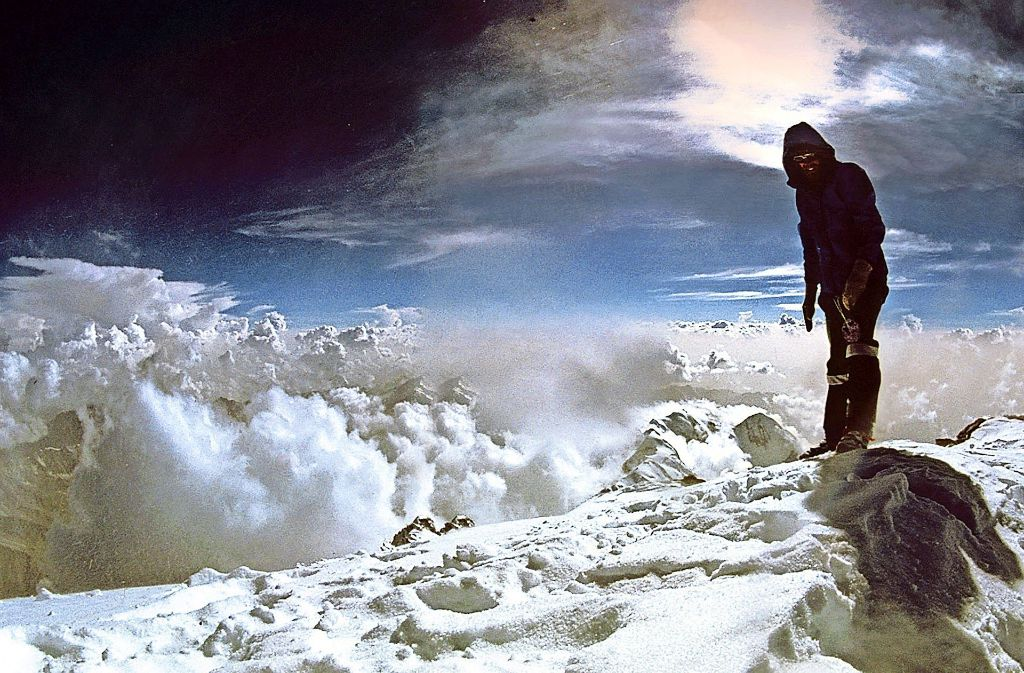Reinhold Messner hat als erster Mensch alle 14 Achttauender  ohne Sauerstoffflaschen bestiegen. Foto: Veranstalter