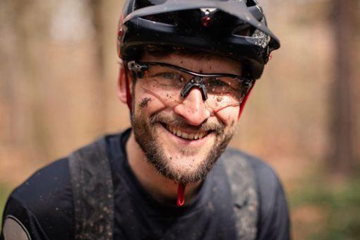Hat Spaß an seinem Job: Tobias Dannenmann vermittelt mit seiner MTB-Schule Besserbiken in Stuttgart die Freude am Radfahren und den achtsamen Umgang mit der Natur.