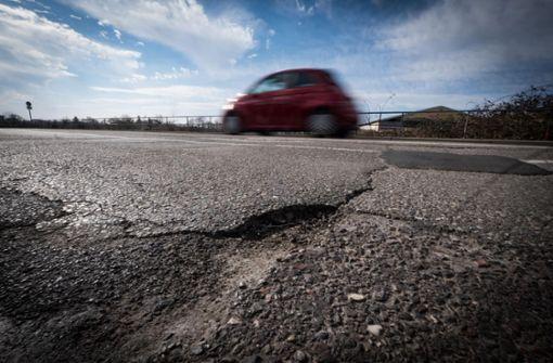 18 Millionen Euro für Stuttgarts marode Straßen