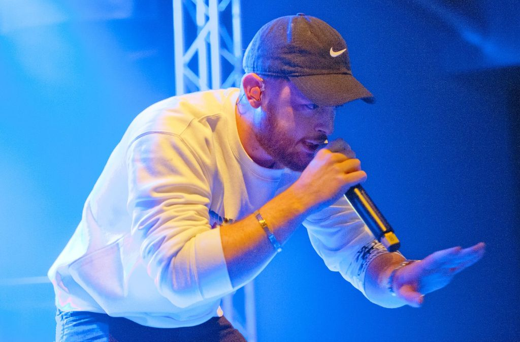 Der Bietigheimer Rapper Bausa feiert im Wizemann eine Party mit seinen Fans. Foto: Lichtgut - Oliver Willikonsky