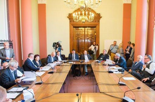 Erste Zerreißprobe für die AfD im Schweriner Landtag