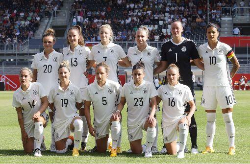 Das sind die DFB-Kickerinnen