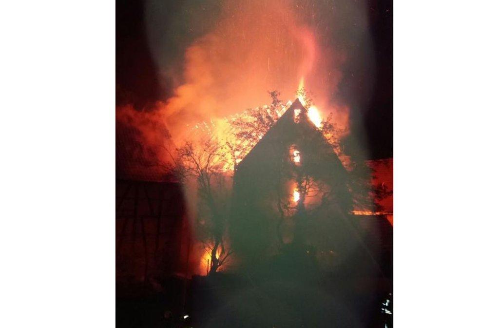 Verletzt wurde niemand bei dem Brand. Foto: privat