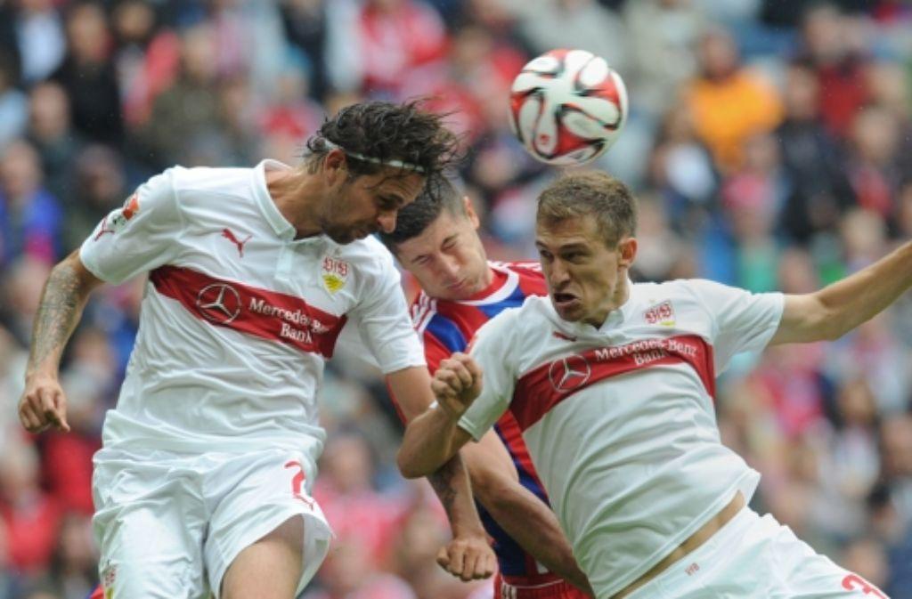 2:0 - so lautet das Ergebnis der Partie in München. In unserer Bildergalerie haben wir Reaktionen zum Spiel zusammengestellt. Foto: AFP