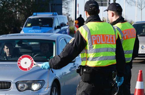 Innenminister Seeehofer: Grenzkontrollen werden allmählich beendet