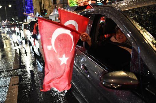 Mit dem Kopf in der Türkei