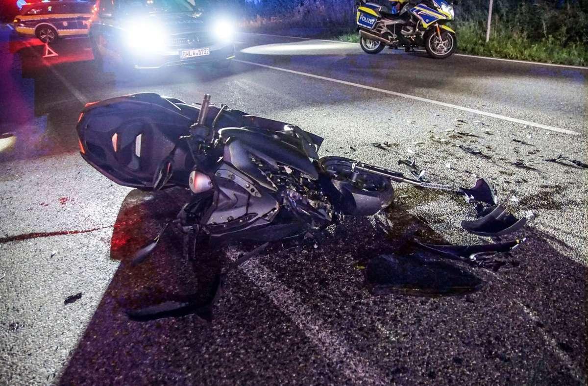Der Rollerfahrer kollidierte mit dem Pkw des 38-Jährigen. Foto: SDMG/Dettenmeyer