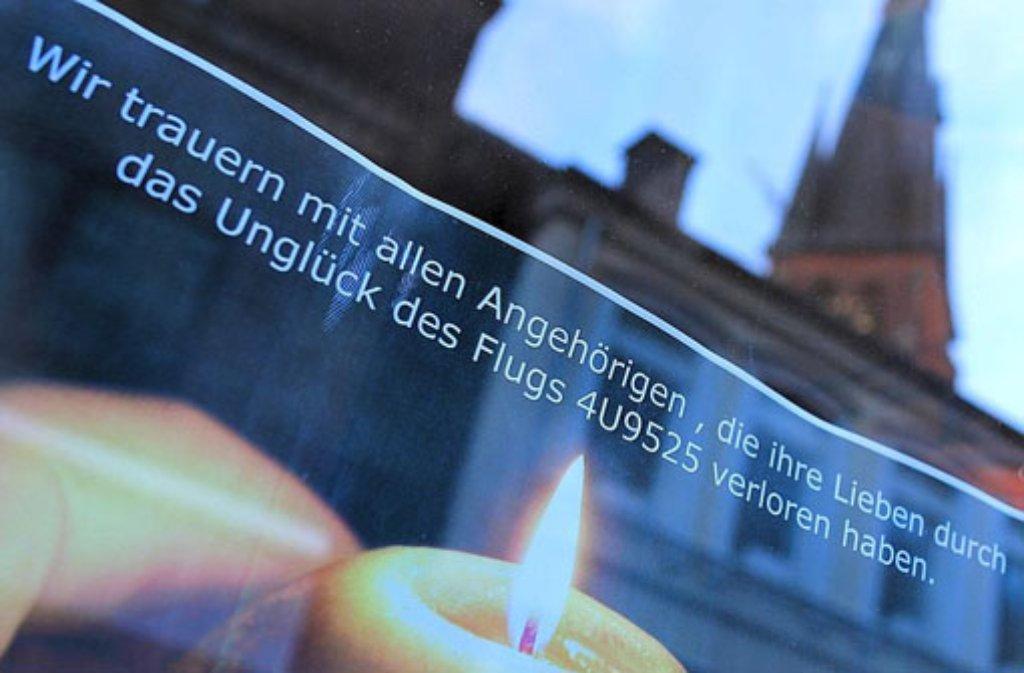Beim Germanwings-Absturz kamen alle 150 Menschen an Bord ums Leben. Foto: dpa