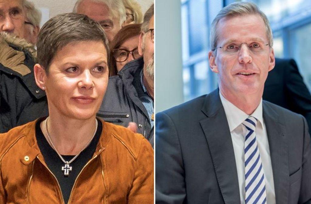 Ulrike und Clemens Binninger sind künftig auch beruflich ein Paar. Foto: factum/Weise, dpa