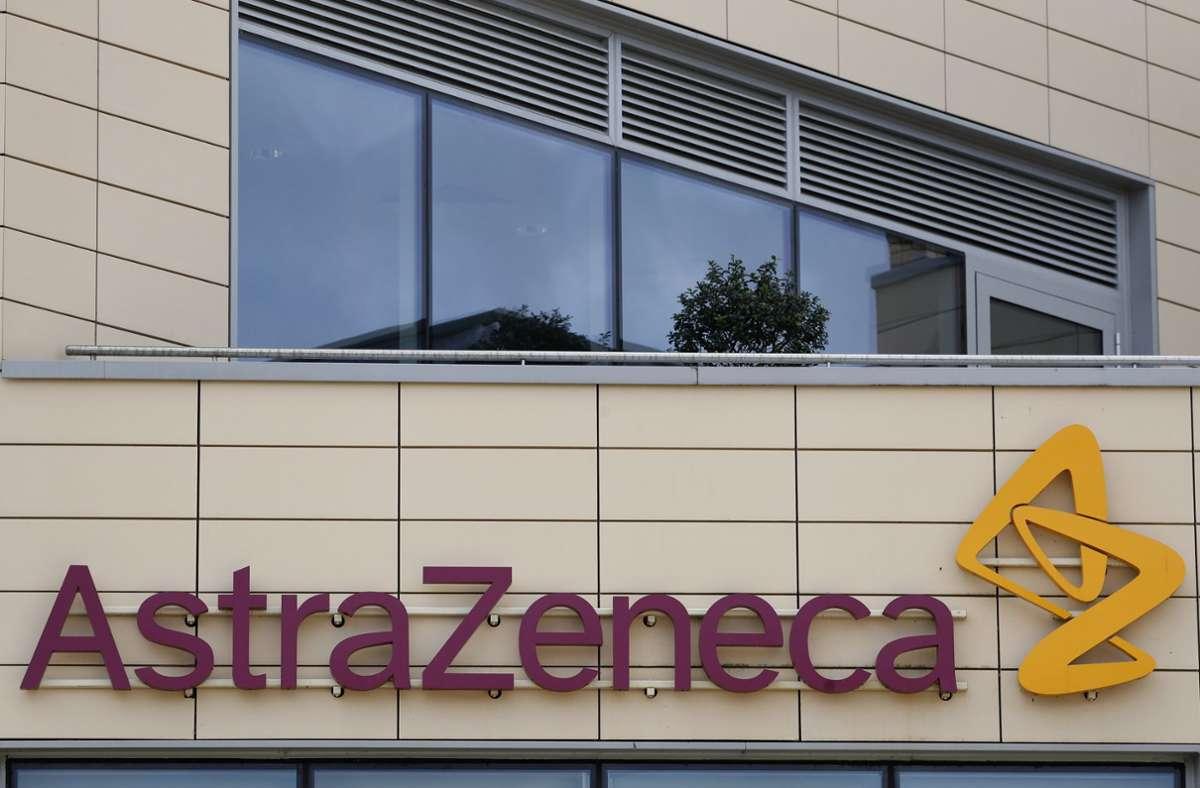 Astrazeneca vermeldet ebenfalls einen Impfstoff-Erfolg. Foto: dpa/Alastair Grant