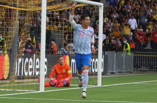 Cristiano Ronaldo schießt Ordnerin ab