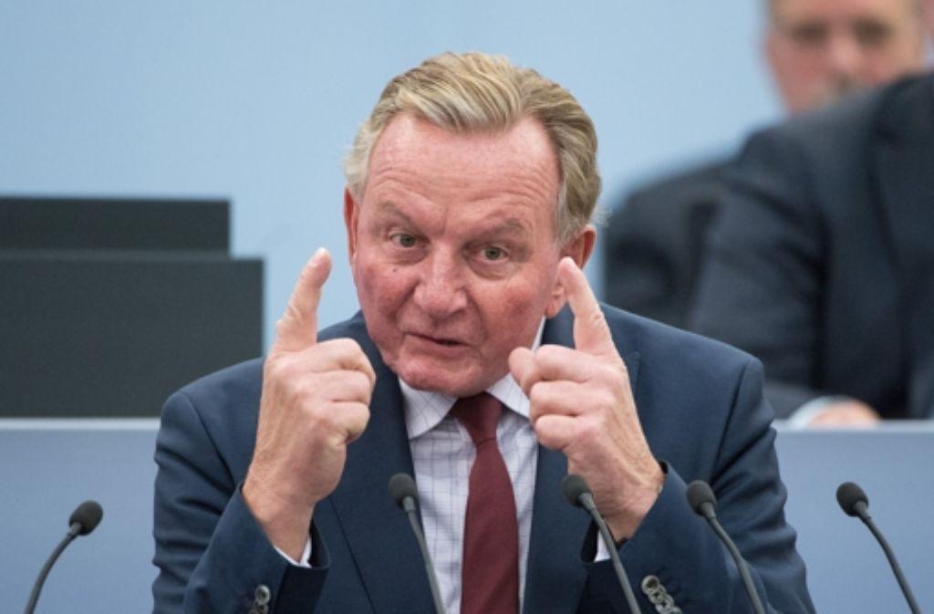 Claus Schmiedel macht es dringend: Die SPD muss für den Sozialstaat stehen. Foto: dpa