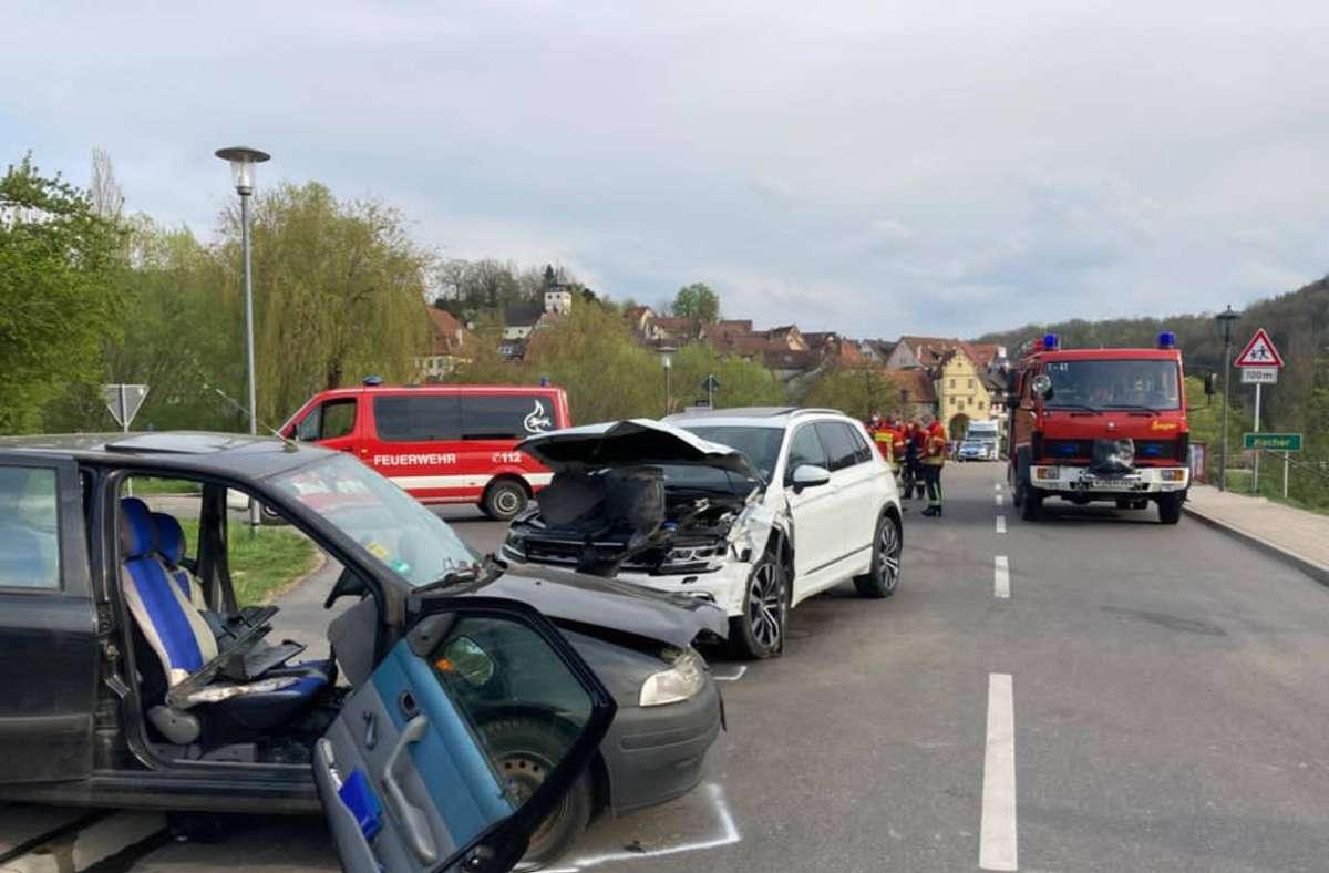 Ein Mann kam bei dem Unfall ums Leben. Foto: 7aktuell.de/Hessenauer