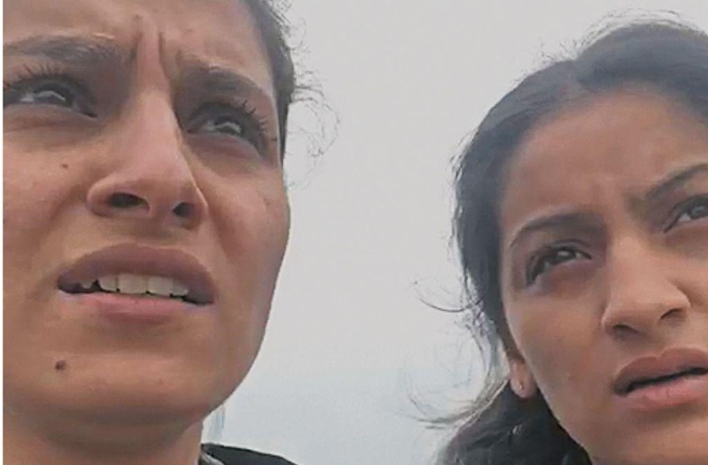 Gylten (links) und Gylije Tahiri haben ein Video mit ihrem Hilferuf gedreht. Foto: privat