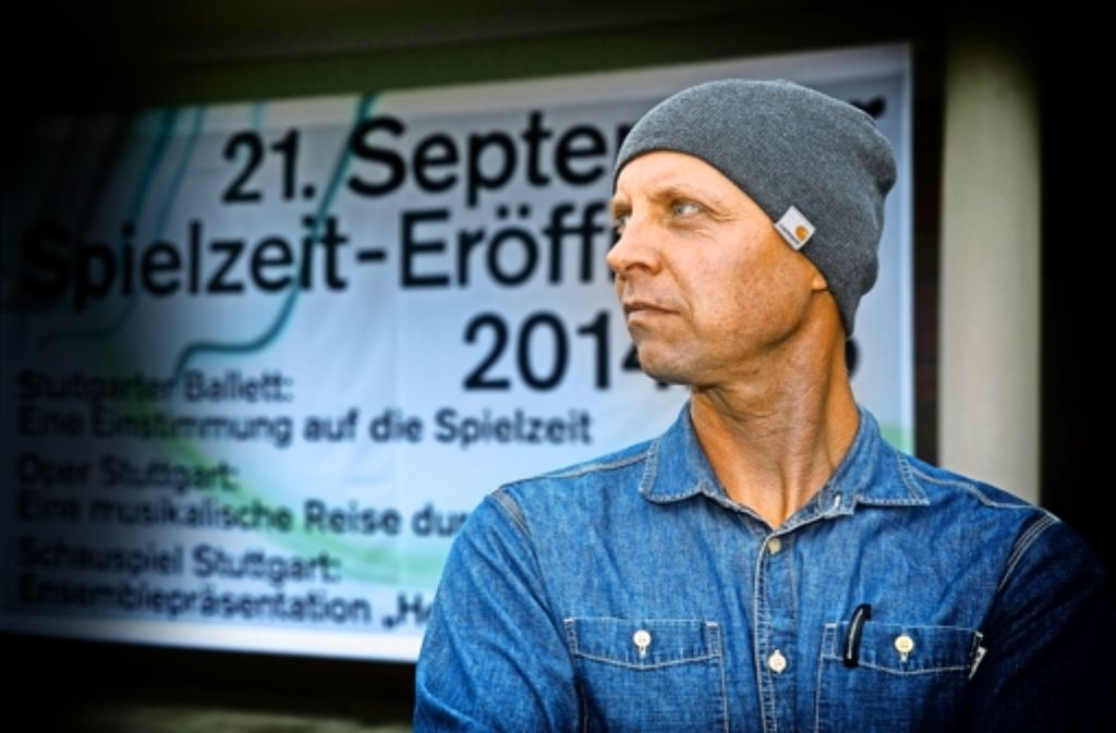 Der Intendant der Stuttgarter Staatstheater Armin Petras. Foto: Horst Rudel