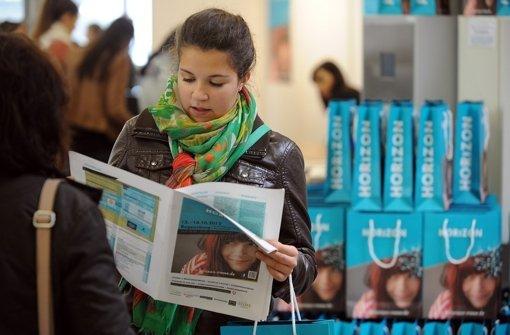 Die Messe Horizon informiert über Studium und Ausbildung. Foto: Messe Horizon