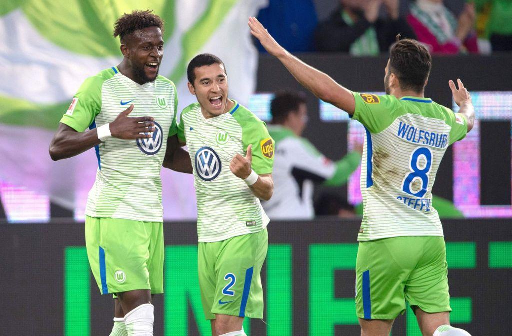 Der VfL Wolfsburg kann das erste Relegationsspiel gegen Holstein Kiel für sich entscheiden. Foto: dpa