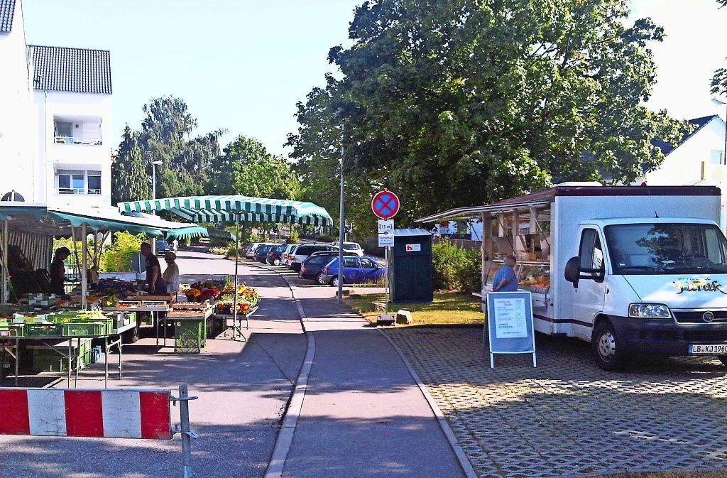 Jetzt ist Schluss: Nachdem vor  Jahren der Käsewagen wegblieb, fehlt nun auch der Gemüsestand in Stetten. Foto: Stadt Leinfelden-Echterdingen