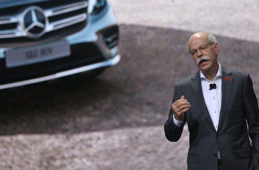 Daimler-Chef verteidigt Dieselmotor