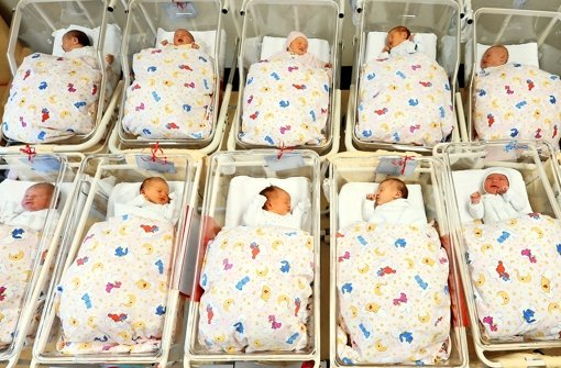 Vor 20 Jahren lag die Quote der Kaiserschnittgeburten noch unter 20 Prozent. Inzwischen ist sie bei 32 Prozent angelangt, sagt das Statistische Bundesamt. Foto: dpa