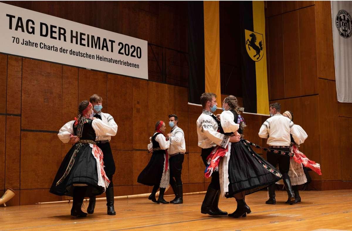 Beim Tanzen mit Maske wurde auch auf die Abstandsregeln geachtet Foto: /Julia Schramm