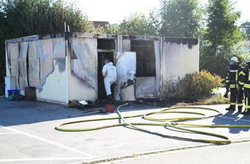 Ursache des Containerbrands mit zwei Toten geklärt