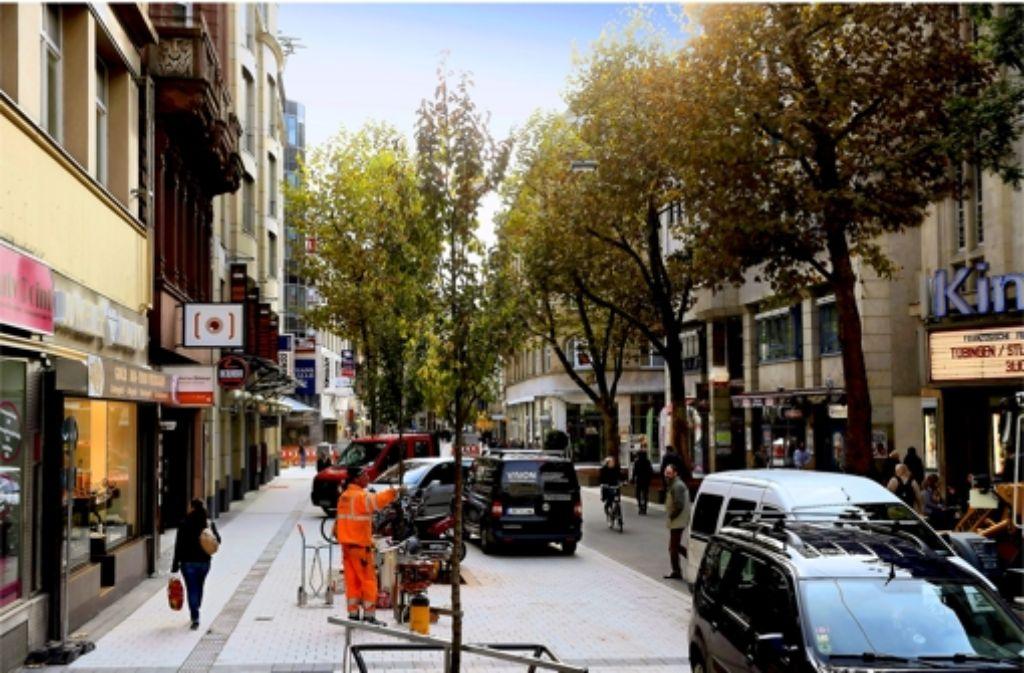 Parken ist auf den umgestalteten Flächen nicht erlaubt. Foto: Achim Zweygarth