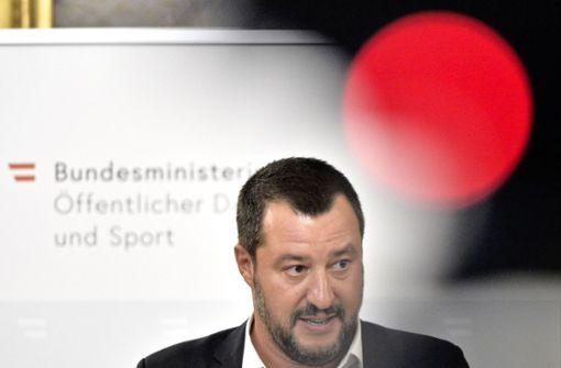 Die Regeln bestimmt Salvini