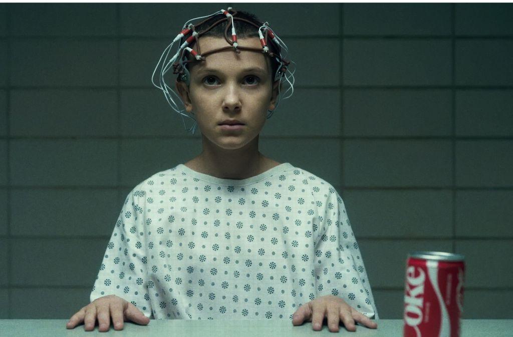 """""""Das ist genau die Art von Show, die wir bei Netflix machen wollen"""": Brian Wright über die Mysteryserie """"Stranger Things"""" mit Millie Bobby Brown als Eleven Foto: Netflix/Curtis Baker"""