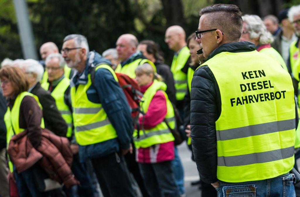 Auch die Kfz-Innung Region Stuttgart fordert die Rücknahme der Fahrverbote. Foto: Lichtgut/Christoph Schmidt