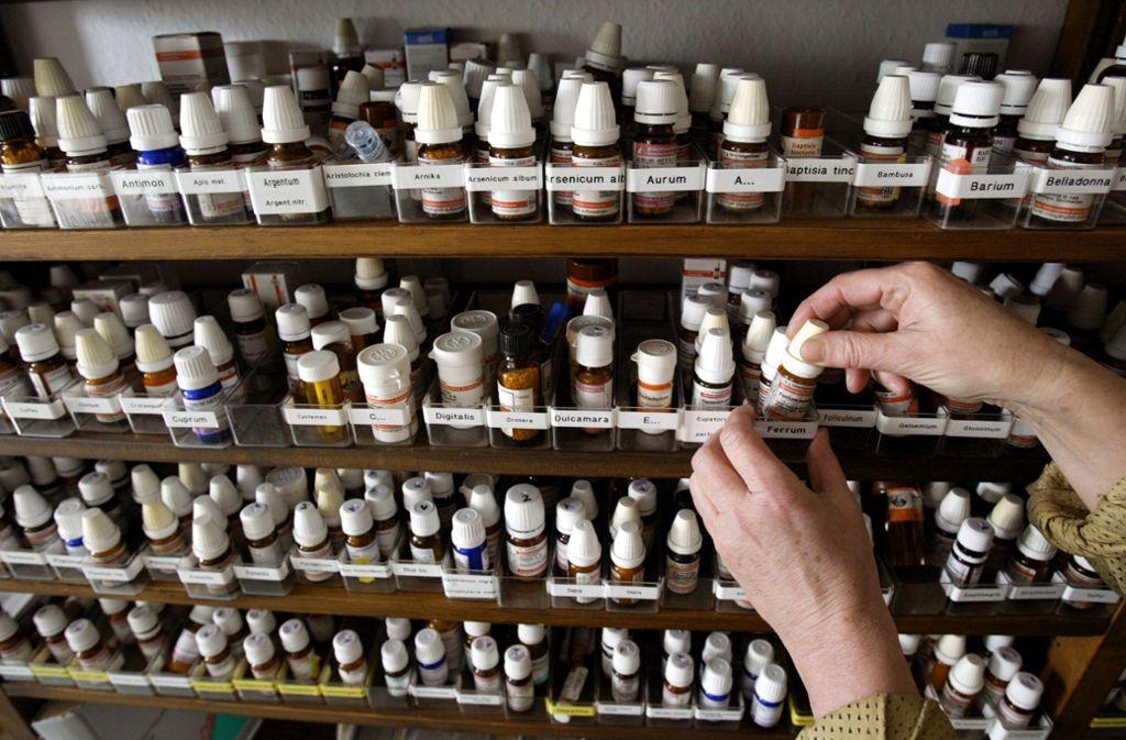 In Frankreich werden homöopathische Arzneien  bald nicht mehr von den Kassen bezahlt. Foto: dpa