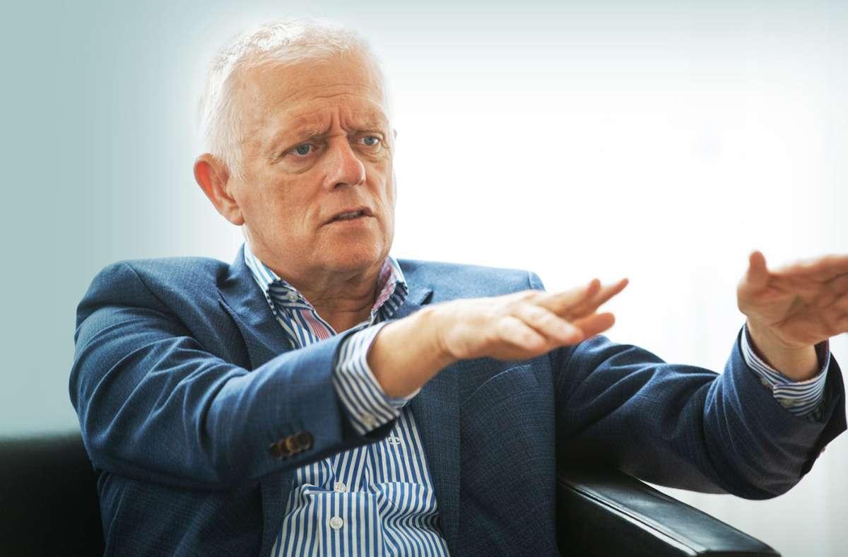 Stuttgarts OB Fritz Kuhn von den Grünen hat den Nachtragshaushalt für 2020 durchgebracht.  Ende des Jahres scheidet er aus dem Amt. Foto: Lichtgut/Leif Piechowski