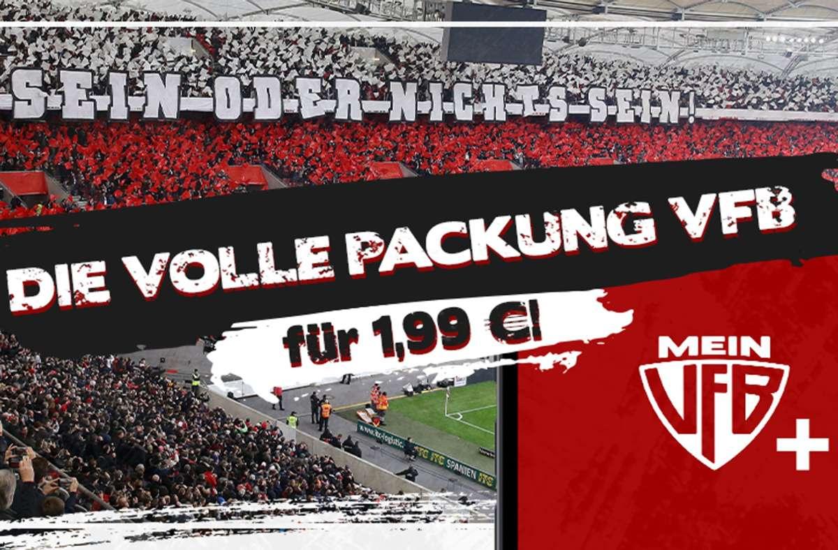 Unsere Redaktion bietet ab sofort ein Abonnement-Modell, dass sich explizit an die VfB-Fans richtet. Das MeinVfB+ Abo. Foto: STZN/Baumann