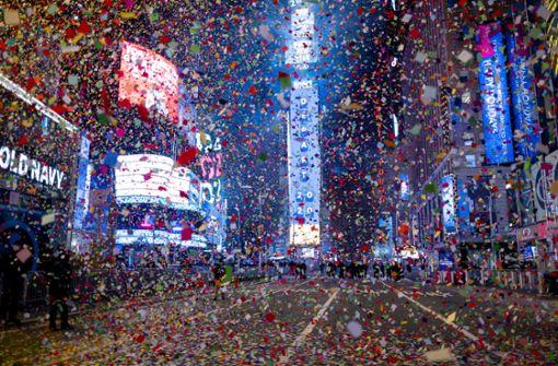 Wie die Menschen weltweit das neue Jahr begrüßten