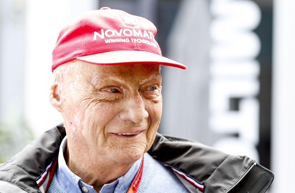 Niki Lauda befindet sich nach seiner Lungentransplantation in der Reha, eine Grippe kann da gefährlich werden. Foto: AAP