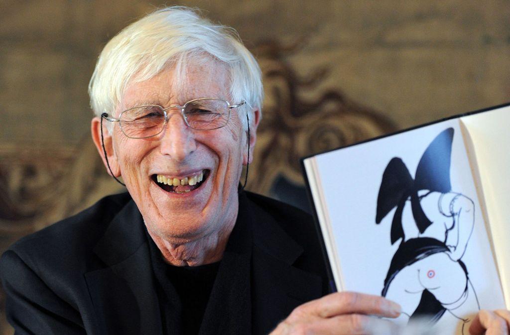 Ungerer schockierte mit seinen Zeichnungen die Kunstwelt. Foto: AFP