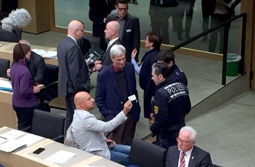 AfD-Politiker Räpple und Gedeon müssen weiter draußen bleiben