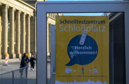 Langsamtest am Schlossplatz