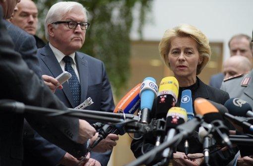 Kabinett beschließt Irak-Einsatz