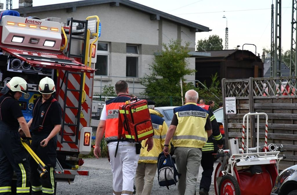 Die Polizei meldet einen tödlichen Unfall in Darmstadt Foto: dpa